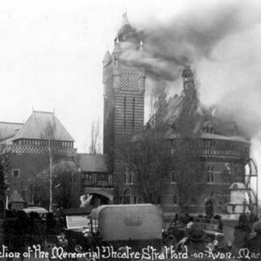 Shakespeare Memorial Theatre Fire, 1926