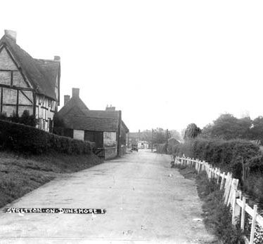 Then and Now: Stretton on Dunsmore, Brookside