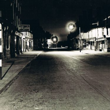 Abbey Street, Nuneaton at Night