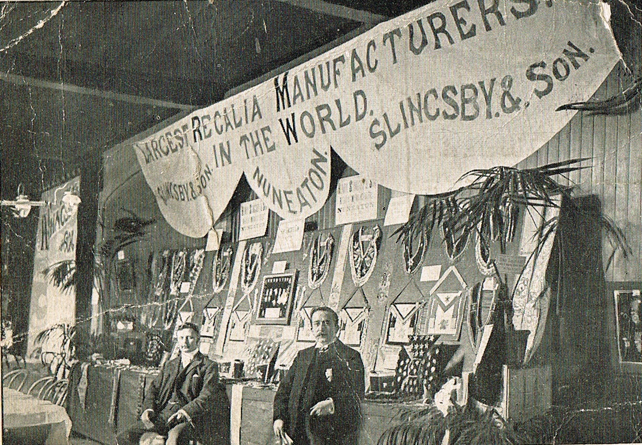 Exhibition Stand Warwickshire : Photo of slingsby s silk manufacturers nuneaton
