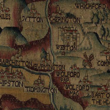Digitising the Sheldon Tapestry