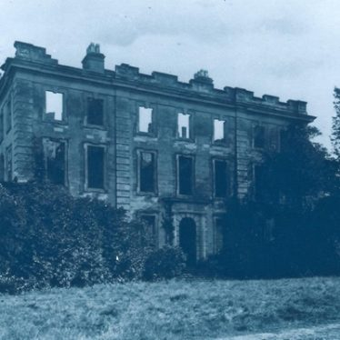 Fire at Baginton Hall