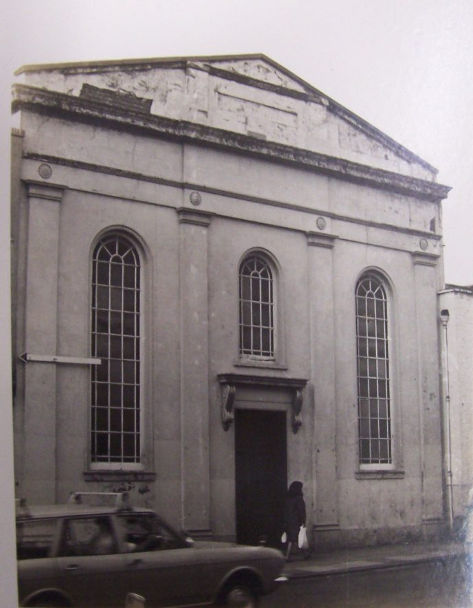 Warwick Street Methodist Chapel.   Warwickshire County Record Office reference PH84/143
