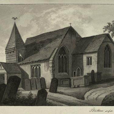 Stretton on Dunsmore's First Church