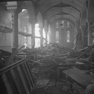 The Demolition of Christ Church, Leamington