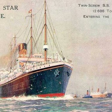 The SS Suevic Runs Aground, and a Warwickshire Connection