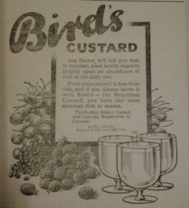 Warwickshire at War 1914-1918: Bird's Custard