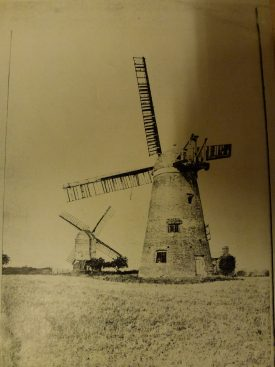 Stockton tower and post windmills | Warwickshire County Record  Office Ref. PH1035/A6961