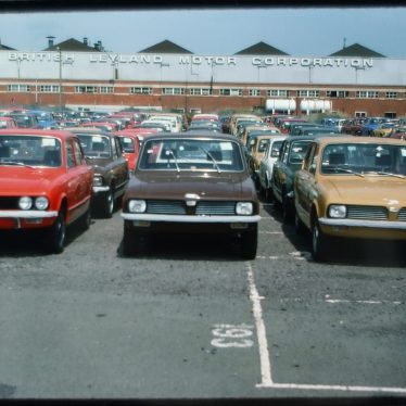 Triumph, Canley. Another 70s View