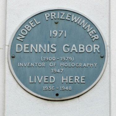 Dennis Gabor, Rugby Nobel Laureate