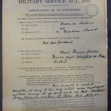 Researching the Military Tribunals in Warwickshire