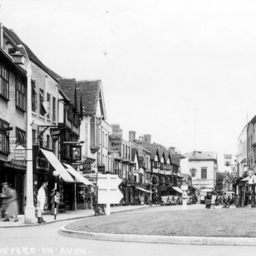 Old Shops in Stratford