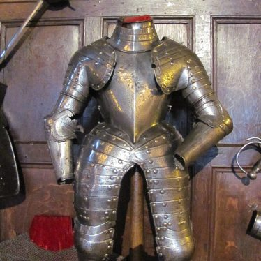 The Noble Imp's Armour at Warwick Castle