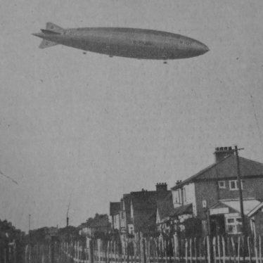 The R101 Airship Passes Hillmorton, Bilton and Wolston