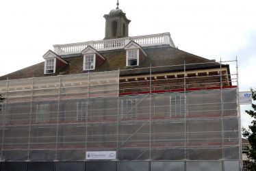 Market Hall: What's the Scaffolding For?