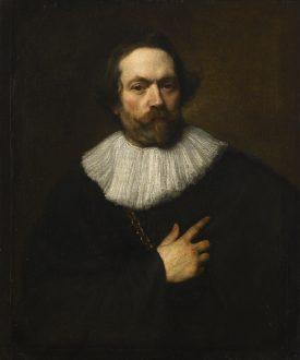 Portrait of a man by Anthony van Dyck | Image courtesy of Warwick Castle