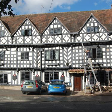 Timbered Buildings in Warwick