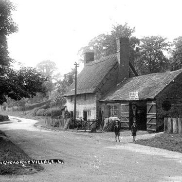 Lighthorne.  Village Green and Church Lane