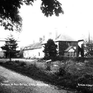 Long Marston.  Grammar School and Post Office