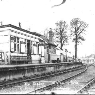 Stretton on Fosse.  Railway Station
