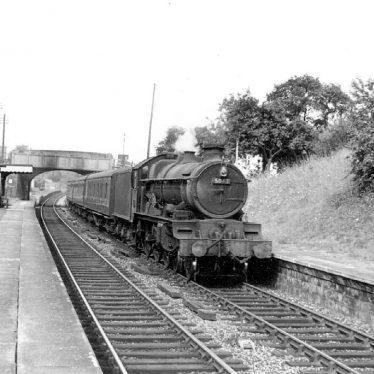 Claverdon.  Leamington to Gloucester train