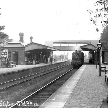Lapworth.  Railway Station