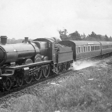 Lapworth.  Railway train