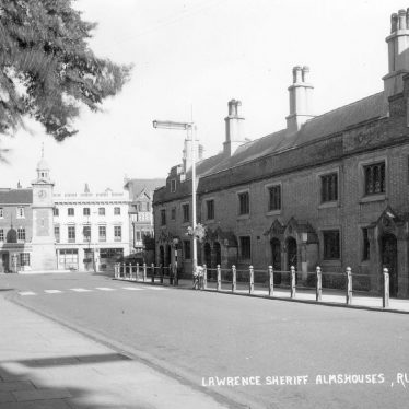 Rugby.  Lawrence Sheriff Almshouses