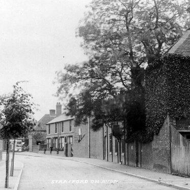 Stratford upon Avon.  Back Lane, now Grove Road