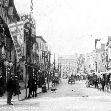 Stratford upon Avon.  High Street