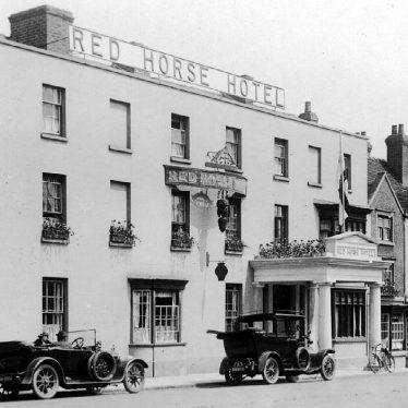 Stratford upon Avon.  Red Horse Hotel