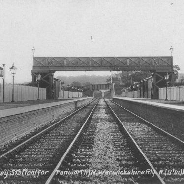 Tanworth in Arden.  Danzey Station