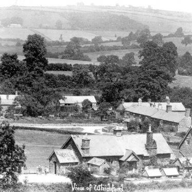 Whichford.  Village view
