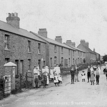 Stockton.  'Greaves Cottages'