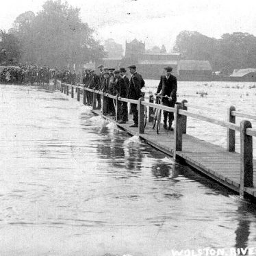 Wolston.  Flooding