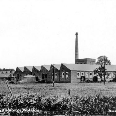 Wolston.  Bluemells Works