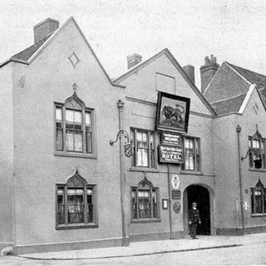 Atherstone.  Old Red Lion Hotel