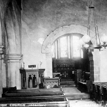 Baxterley.  Church interior