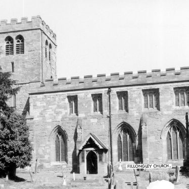Fillongley.  St Mary and All Saints church