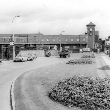 Nuneaton.  Trent Valley Railway Station
