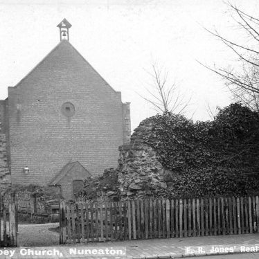 Nuneaton.  St Mary's Abbey church