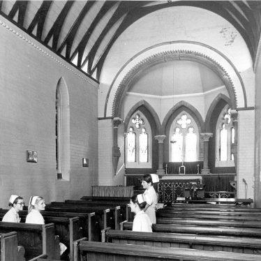 Leamington Spa.  Radford Road, Warneford Hospital, chapel