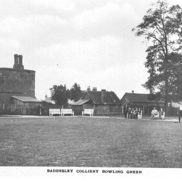 Baddesley Colliery Bowling Green.