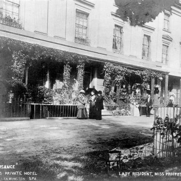 Leamington Spa.  Lansdowne Crescent, La Plaisance