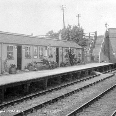 Napton & Stockton.  Railway Station
