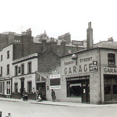 Leamington Spa.  Warwick Street