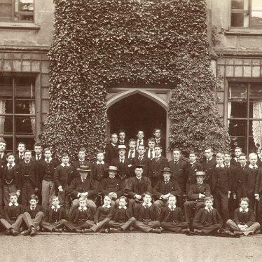 Rugby School.  Bradley House Boys