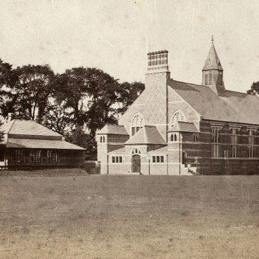 Rugby School.  Gymnasium