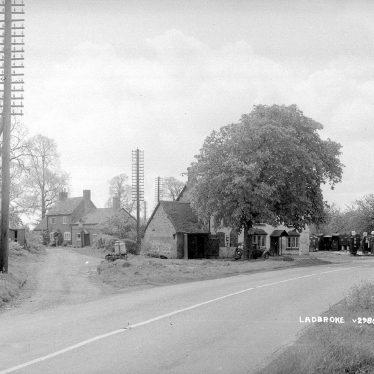 Ladbroke.  Village scene