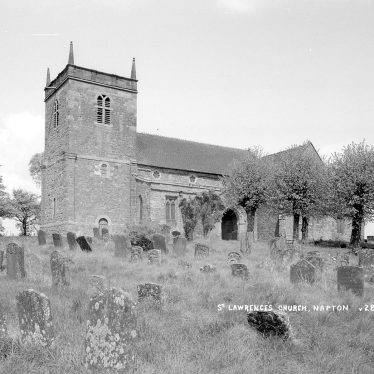 Napton on the Hill.  St Lawrence Church